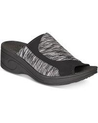 Easy Street - Slight Wedge Sandals - Lyst