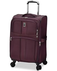 """London Fog - Langley 21"""" Carry-on Spinner Suitcase - Lyst"""