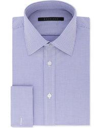 Sean John - Big And Tall Classic/regular Fit Purple French Cuff Dress Shirt - Lyst