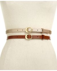 Style & Co. - 2 For 1 Studded Belt - Lyst
