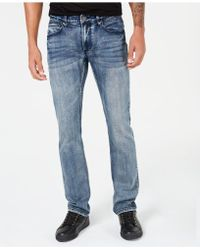 INC International Concepts - I.n.c. Stretch Slim Straight Jeans, Created For Macy's - Lyst