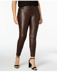 Hue | Women's Plus Size Faux Leatherette Leggings | Lyst