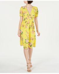 19 Cooper Floral-print Shift Dress