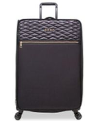 """DKNY - Allure 29"""" Quilted Softside Spinner Suitcase - Lyst"""