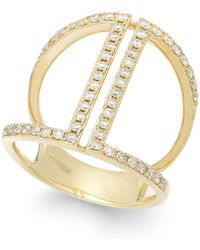 Effy Collection - Diamond Ring In 14k Gold (5/8 Ct. T.w.) - Lyst