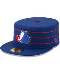 check out 48524 73dd7 KTZ - Montreal Expos Pillbox 59fifty-fitted Cap - Lyst