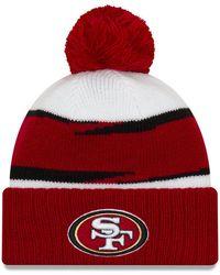 899b354c85adf1 KTZ San Francisco 49ers Thanksgiving On Field Reflective Sport Knit ...