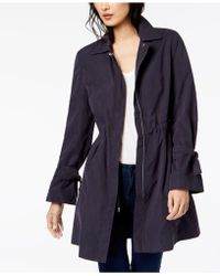 Maison Jules - Tie-sleeve Trench Coat, Created For Macy's - Lyst
