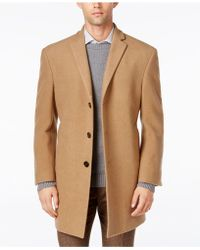 Calvin Klein - Men's Prosper Extra-slim Fit Overcoat - Lyst