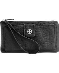 Giani Bernini | Softy Medium Grab & Go Wallet | Lyst