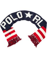 Polo Ralph Lauren - Men's Reversible Stadium Scarf - Lyst