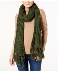 Steve Madden - Speckled Soft Knit Scarf - Lyst