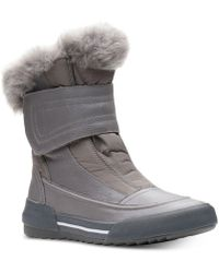 Clarks - Gilby Merilyn Cold-weather Waterproof Boots - Lyst