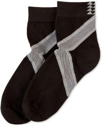Hue - ® Power Compression Mini Crew Socks - Lyst