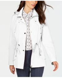 bbe2b8b463df Charter Club - Petite Anorak Rain Jacket, Created For Macy's - Lyst