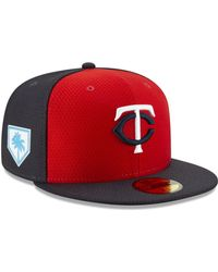25173a171cc5e4 KTZ Houston Astros Spring Training Pro Light 59fifty Fitted Cap in Blue for  Men - Lyst