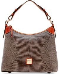 Dooney & Bourke - Lizard Embossed Hobo - Lyst