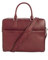 Cole Haan - Hamilton Grand Leather Attaché Case - Lyst