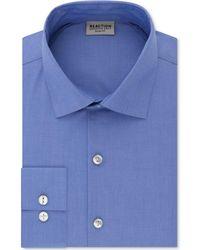 Kenneth Cole Reaction - Techni-cole Slim-fit Performance Stretch Wrinkle-free Flex-collar Dress Shirt - Lyst