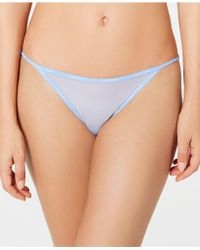 1bb50217153 Calvin Klein Sheer Marquisette Smooth G-string Qf1681 - Lyst