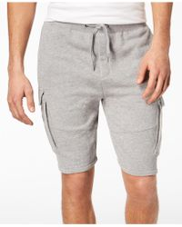American Rag - Heathered Cargo Knit Shorts, Created For Macy's - Lyst