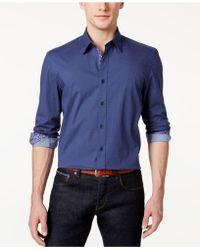 Con.struct - Men's Artisan Pindot Shirt - Lyst