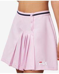 Fila - Veronica Pleated Skirt - Lyst
