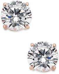 Joan Boyce - Cubic Zirconia Stud Earrings - Lyst