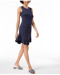 Maison Jules - Dot-print A-line Dress, Created For Macy's - Lyst