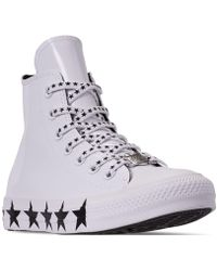 38e0894cf03 Lyst - Converse Pride X Miley Cyrus Chuck Taylor All Star High Top ...