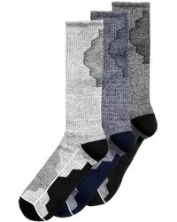 Perry Ellis - Men's 3-pk. Colorblocked Performance Socks - Lyst