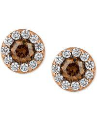 Le Vian - Chocolatier® Diamond Stud Earrings (3/4 Ct. T.w.) In 14k Rose Gold - Lyst