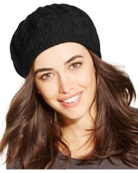 Charter Club - Cashmere Cable Beret, Only At Macy's - Lyst