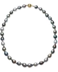 Macy's - Cultured Tahitian Baroque Pearl (9-11mm) Collar Necklace - Lyst