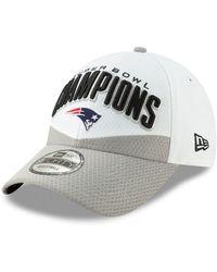2a2ff4e0b5b2a KTZ - New England Patriots Super Bowl Liii Champ Locker Room 9forty  Snapback Cap - Lyst