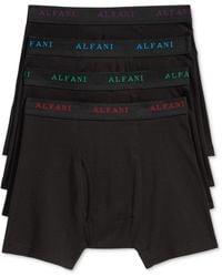 Alfani - Men's 4-pk. Cotton Boxer Briefs - Lyst