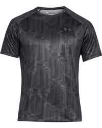 Under Armour - Techtm Printed Short Sleeve Shirt - Lyst