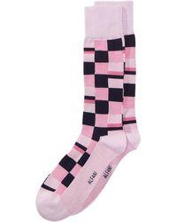 Alfani - Mosaic-print Dress Socks, Created For Macy's - Lyst