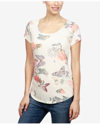 Lucky Brand - Printed T-shirt - Lyst