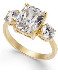Charter Club - Gold-tone Crystal Statement Ring, Created For Macy's - Lyst