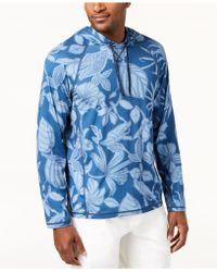 Tommy Bahama - Playa Mambo Hooded Shirt - Lyst