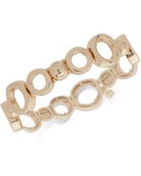 Nine West - Open-link Stretch Bracelet - Lyst