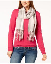 Calvin Klein - Ombré Stripe Woven Scarf - Lyst