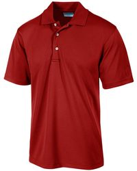 PGA TOUR - Airflux Solid Golf Polo - Lyst