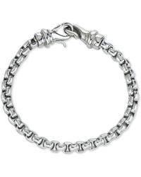 Macy's - Linked Bracelet In Stainless Steel, Created For - Lyst