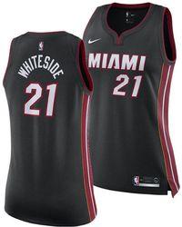 huge discount 44625 67f07 Nike Women's Miami Hurricanes Mascot T-shirt in Black - Lyst