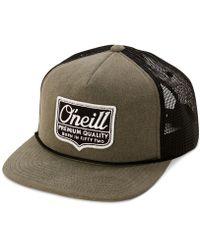 b045c28a46d0c O neill Sportswear - Shield Trucker Hat - Lyst