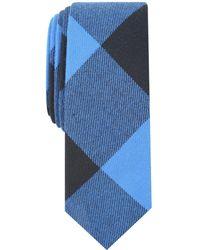 Original Penguin - Hedburg Check Skinny Tie - Lyst