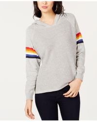 INC International Concepts - I.n.c. Rainbow-stripe Pullover Hoodie, Created For Macy's - Lyst
