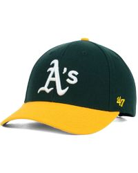 47 Brand - Oakland Athletics Mvp Curved Cap - Lyst